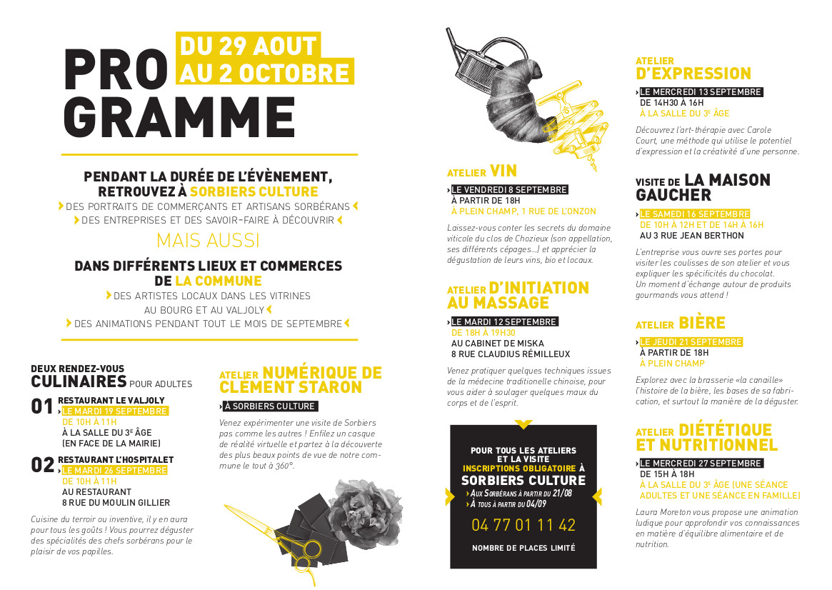 Programme Sorbiers Culture